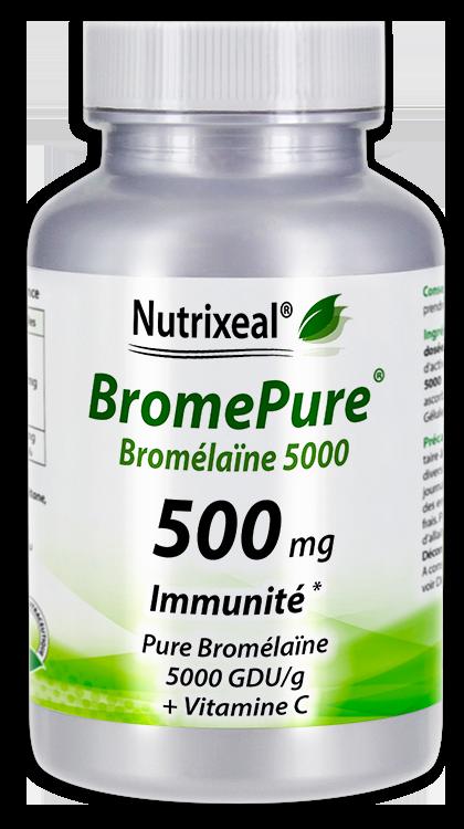 BROMELAINE 5000 GDU / bromelase - 500 mg - Nutrixeal