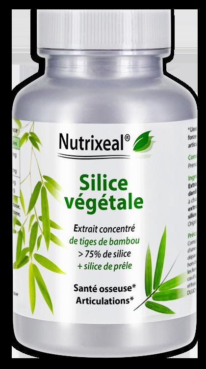 Silice bambou - Nutrixeal - 60 gélules végétales